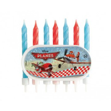 Vela pack 7 velas Plain Disney