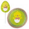 Set para cupcakes: Pollito de Pascua Wilton