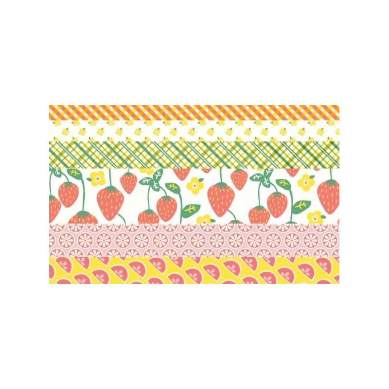 Set Papeles 15 cm Colección Limonada