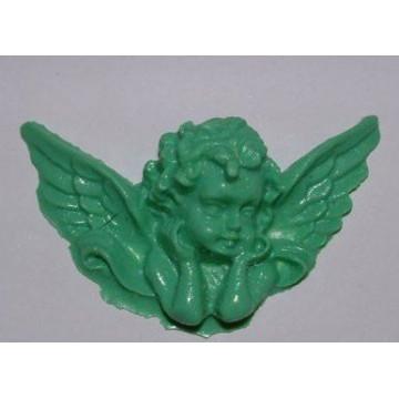 Molde silicona Querubin con alas DPM