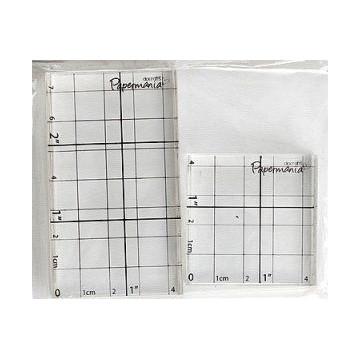 Bloques Acrílicos para sellos pack 2