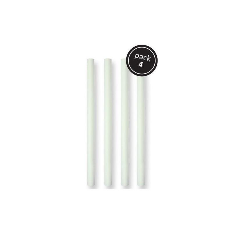 Pack 4 pilares 32 cm básicos para montar tartas PME