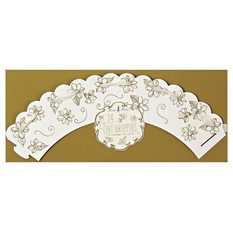 Wrappers Oro Elegante Floral