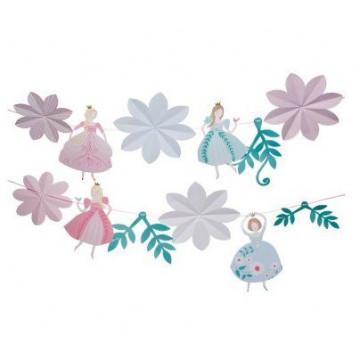 Banderolas Guirnaldas de Fiesta Yo soy Princesas