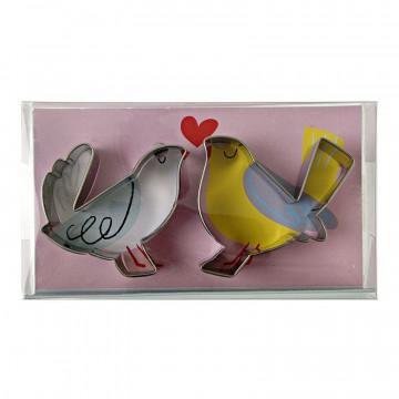 Cortante pack 2 cortantes Love Birds