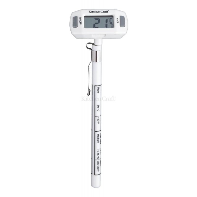 Termómetro digital de sonda