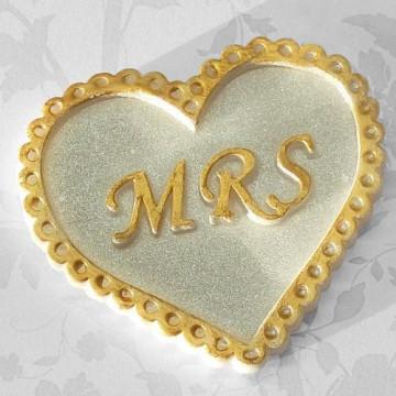 Molde de silicona Corazón Mrs Katy Sue