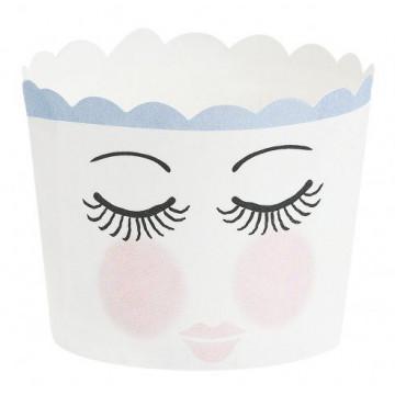 Capsulas cupcakes Ojos