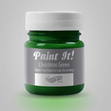 Pintura comestible Verde Navidad 25gr Rainbow Dust