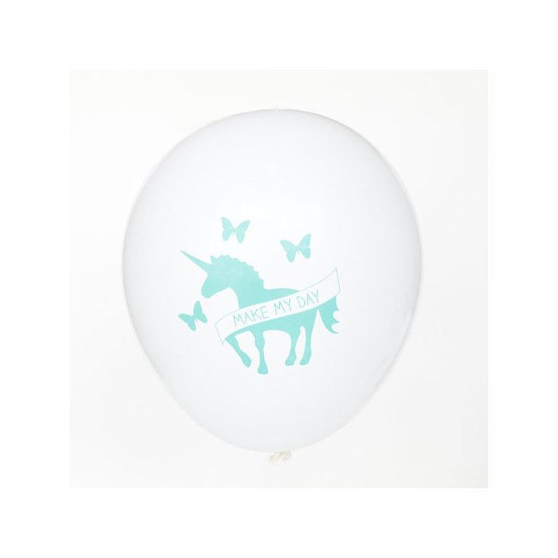 Globos Unicornio Turquesa