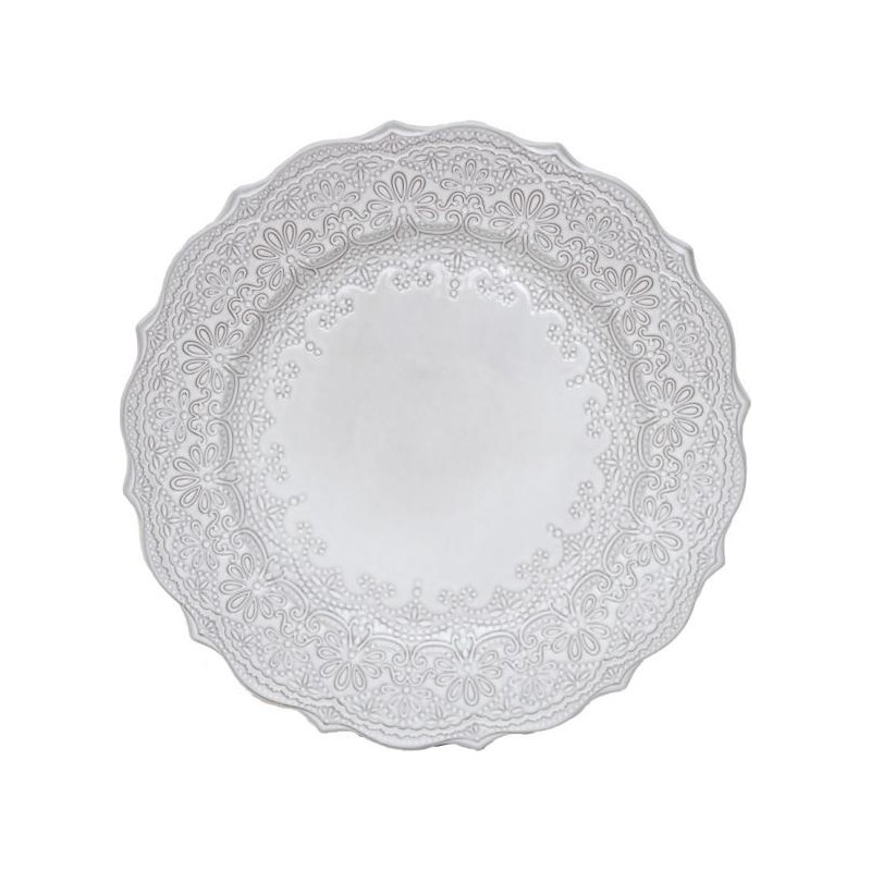 Plato de cerámica 27 cm Encaje Katie Alice