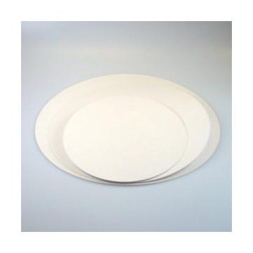 Plato base redondo blanco 22cm