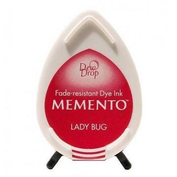 Tinta Memento Rojo Brillante Lady Bug
