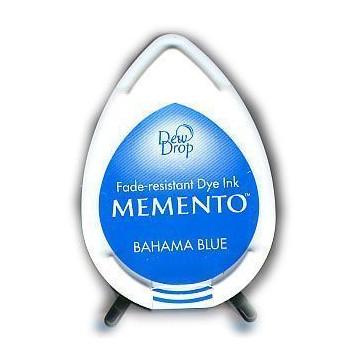 Tinta Memento Azul Royal Bahama blue