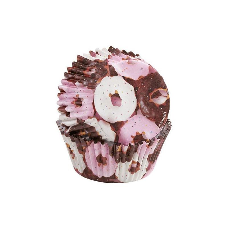 Cápsulas cupcakes antigrasa Donuts Wilton