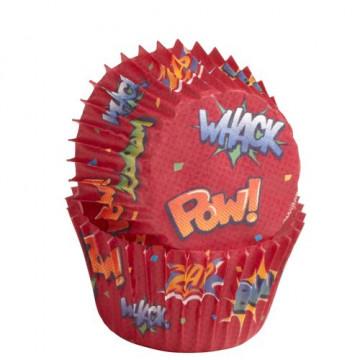 Capsulas mini cupcakes Pow Wilton
