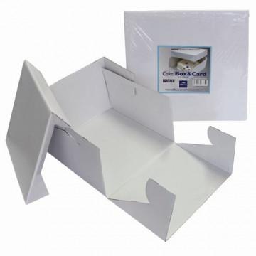 Caja para tartas 17,5 x 17.5 x 15cm