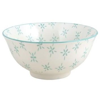 Bol de cerámica Olivia Turquesa