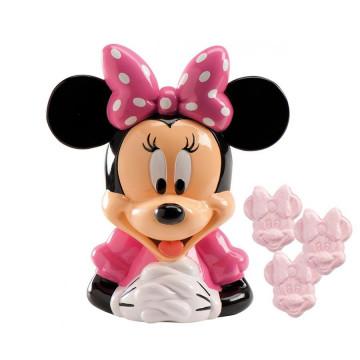 Hucha Minnie Mouse con caramelos