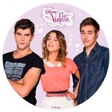 Oblea comestible Violetta 3