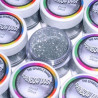 Purpurina fina Decorative Jewel Silver Rainbow Dust