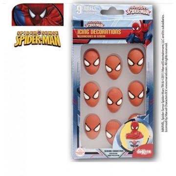 Decoraciones de Icing Spider Man