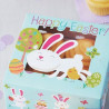 Pack de 2 cajas para 4 cupcakes Conejo de Pascua Wilton