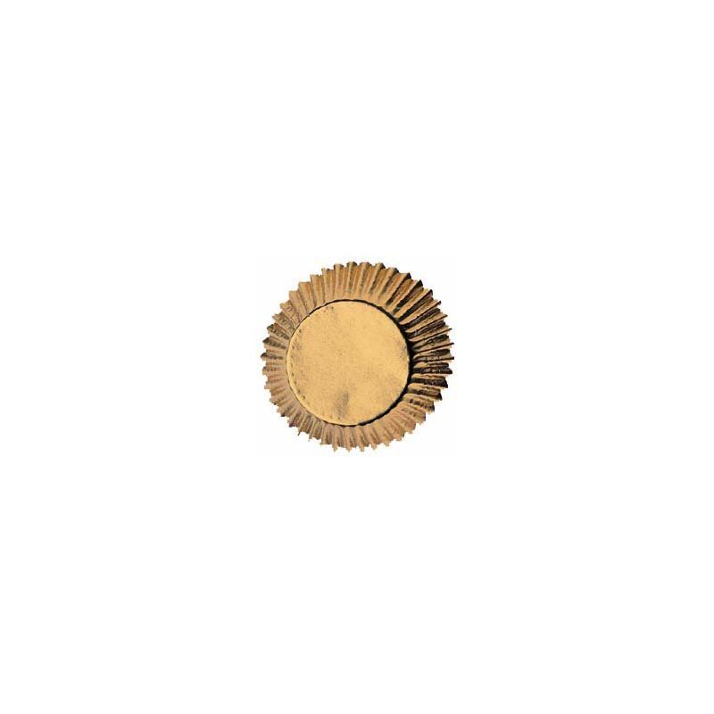 Cápsulas cupcakes Gold Wilton