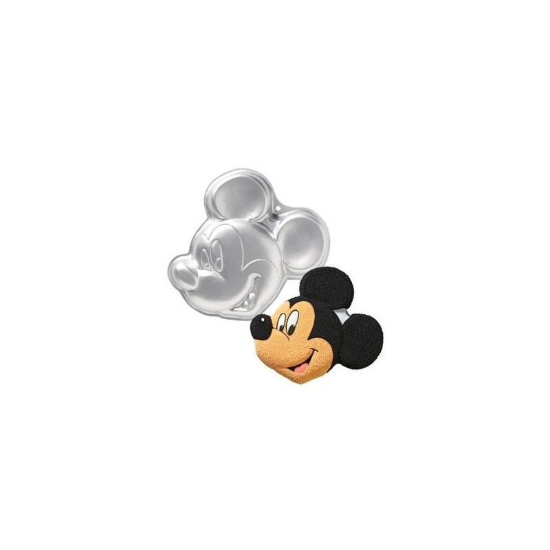 Molde bizcocho Mickey Mouse