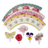 Wrappers + toppers Flores Vintage Campestre