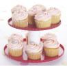 Stand presentación cupcakes pasteles con cúpula Nordic Ware