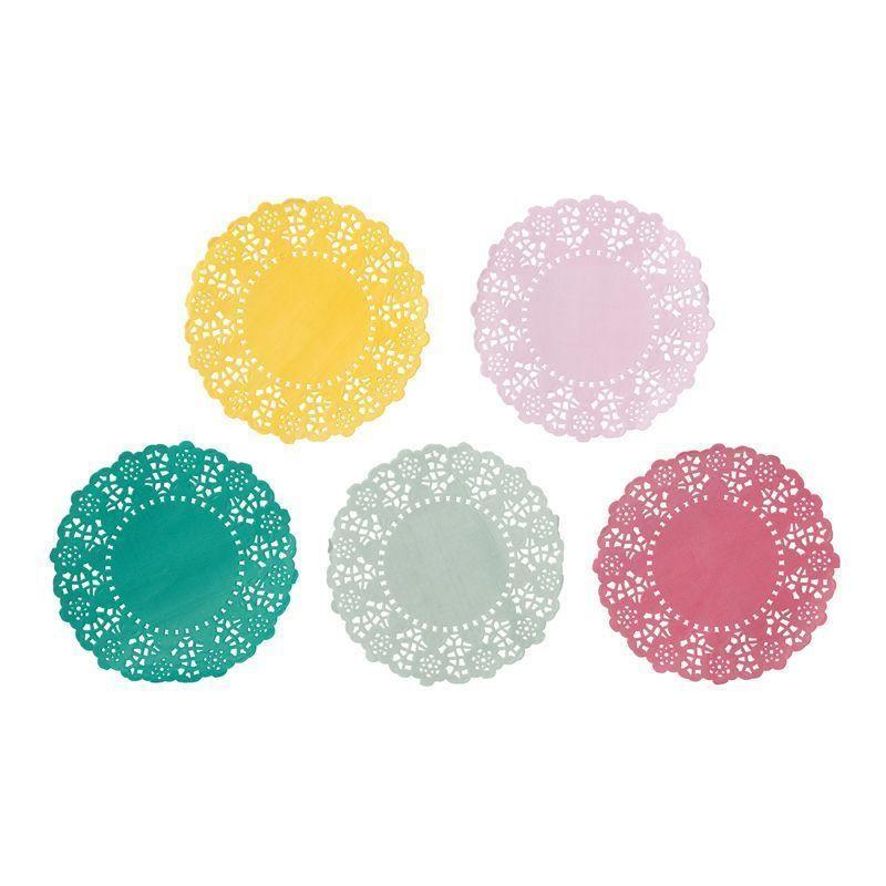 Tapete de papel 100 unidades Colores Floral Party