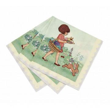 Servilleta de papel Belle & Boo
