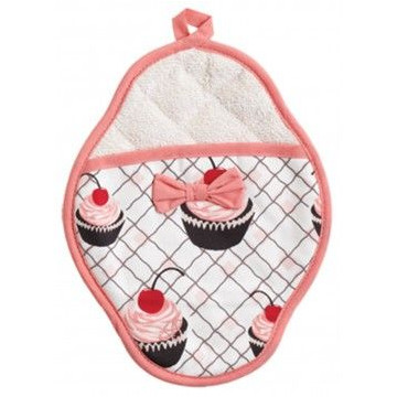 Paño Manopla Cherry Cupcakes Jessie Steele