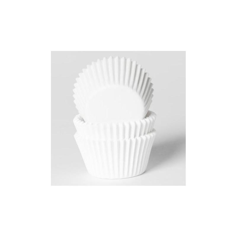 Capsulas para mini cupcakes blanca House of Marie