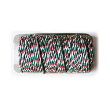 Baker´s Twine Verde, Rojo y Blanco