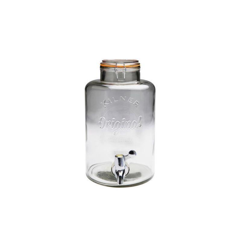Tarro de cristal con grifo 5 L Kilner