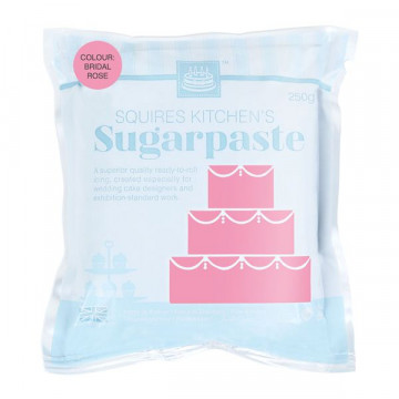 "Fondant Squire Kitchen 250gr Rosa ""Bridal Rose"""