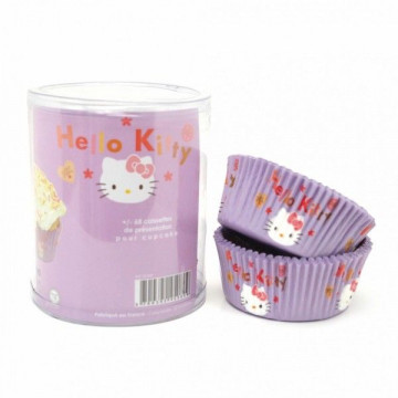 Capsulas cupcakes 65 unidades Hello Kitty