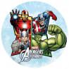 Oblea comestible Avengers Assemble Super Heroes 1