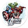 Oblea comestible Avengers Assemble Super Heroes 2