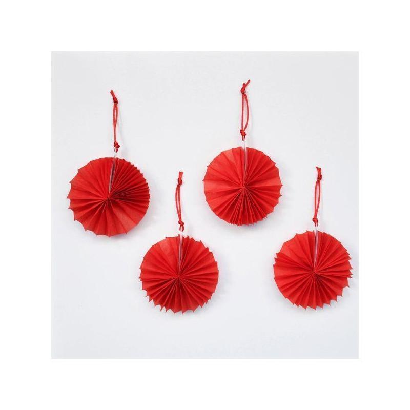 Molinetes mini Rojo