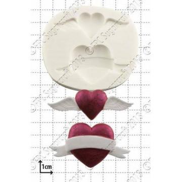 Molde silicona Corazón Valentín