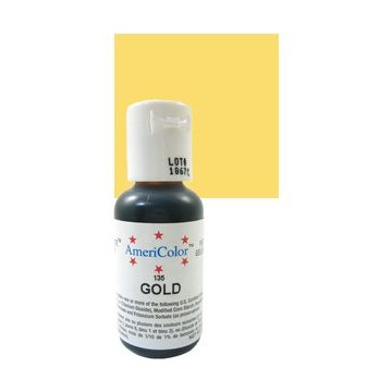 Americolor Soft Gel Gold