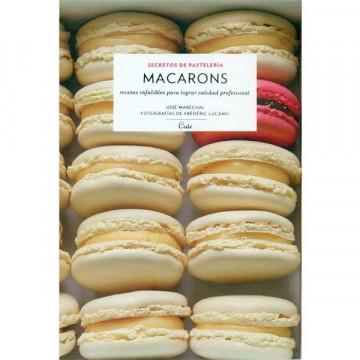 Libro Macarons, secretos de pastelería