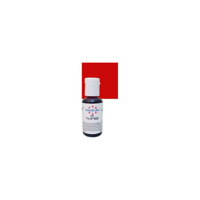 Americolor Soft Gel Tulip Red