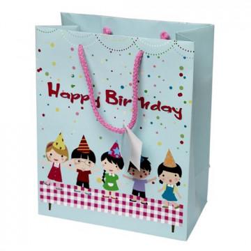 Bolsa Papel Happy Birthday