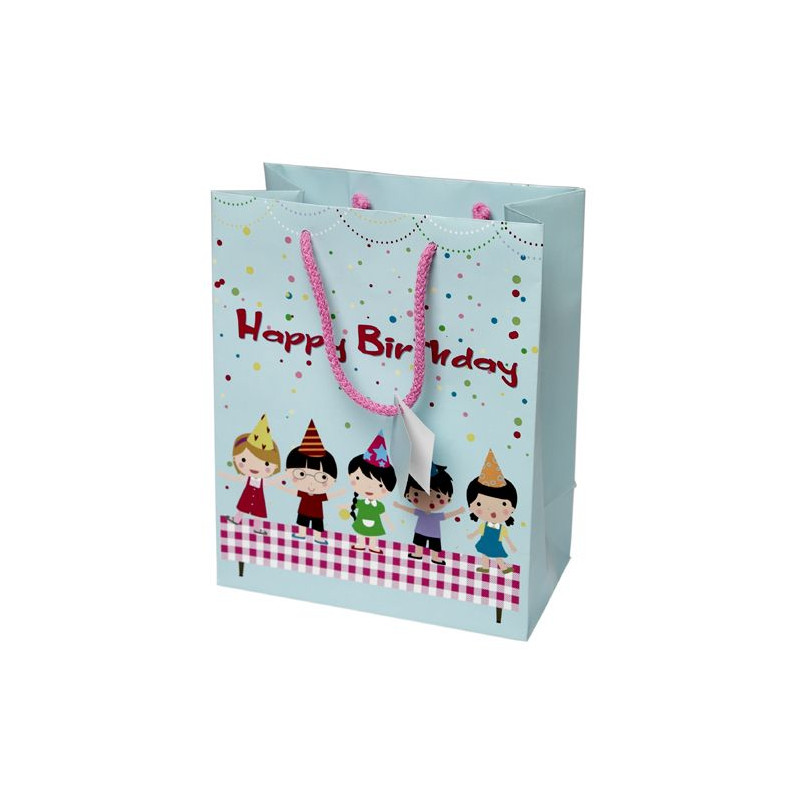 Bolsa Papel Happy Birthday