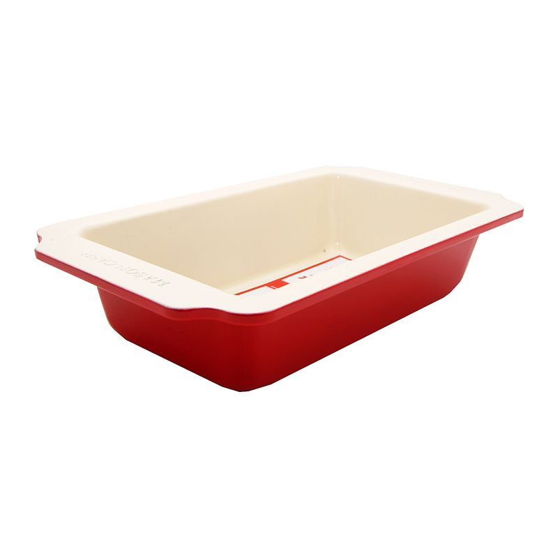 Molde rectangular 30 cm Rojo Crema Mason Cash