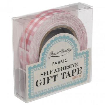 Fabric Tape Vichy Rosa